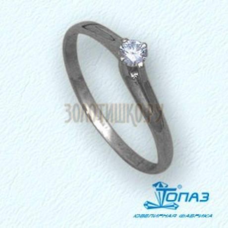 Кольцо с бриллиантом Т30101431