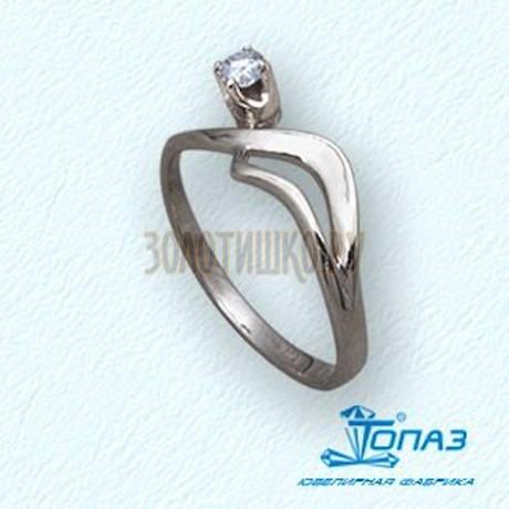 Кольцо с бриллиантом Т30101444