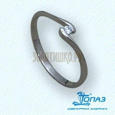 Кольцо с бриллиантом Т30101510