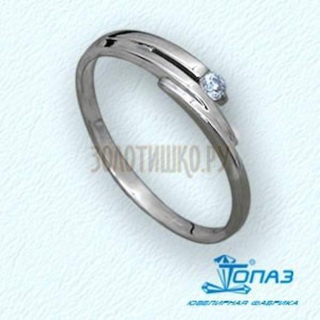 Кольцо с бриллиантом Т30101514