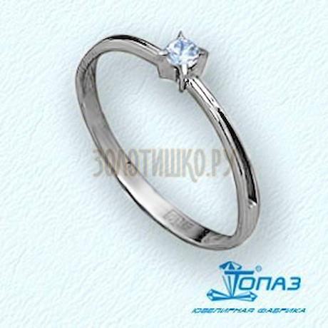Кольцо с бриллиантом Т30101543