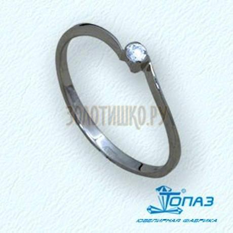 Кольцо с бриллиантом Т30101551