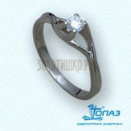 Кольцо с бриллиантом Т30101556