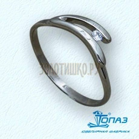 Кольцо с бриллиантом Т30101567