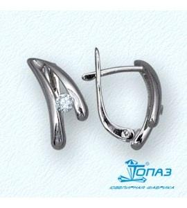 Серьги с бриллиантами Т30102507