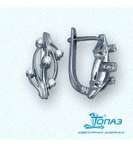 Серьги с бриллиантами Т30102701