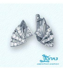 Серьги с бриллиантами Т30102717