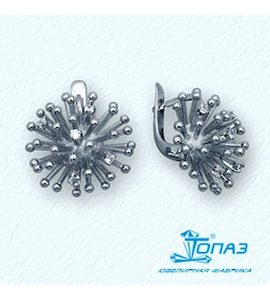 Серьги с бриллиантами Т30102732
