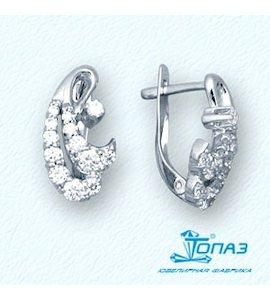 Серьги с бриллиантами Т30102739