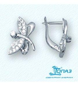 Серьги с бриллиантами Т30102744