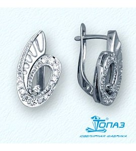 Серьги с бриллиантами Т30102751