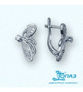 Серьги с бриллиантами Т30102753
