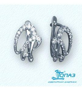 Серьги с бриллиантами Т30102791