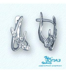 Серьги с бриллиантами Т30102792