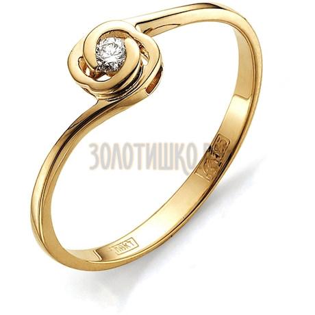 Кольцо с бриллиантом Т101011552