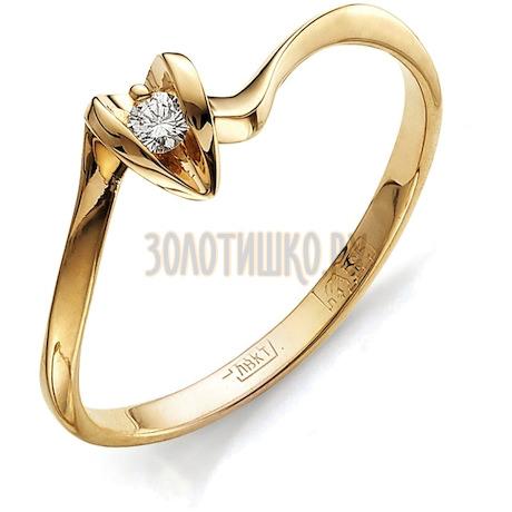 Кольцо с бриллиантом Т101011561