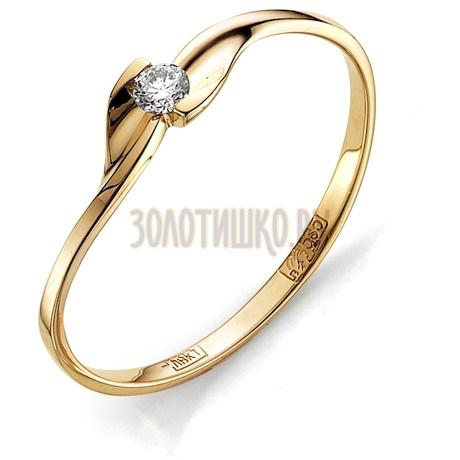 Кольцо с бриллиантом Т101011567