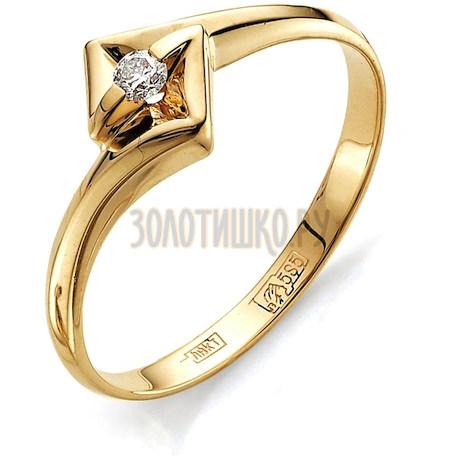 Кольцо с бриллиантом Т101011569