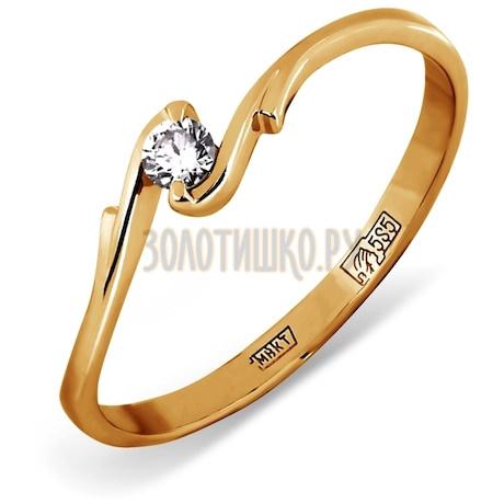 Кольцо с бриллиантом Т101011577