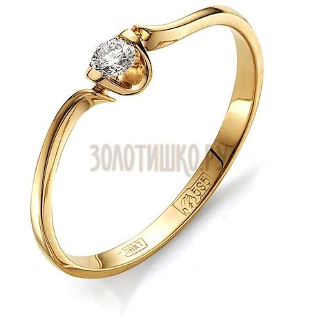 Кольцо с бриллиантом Т101011595