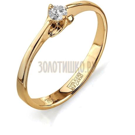 Кольцо с бриллиантом Т101011596
