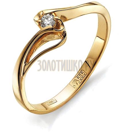 Кольцо с бриллиантом Т101011600