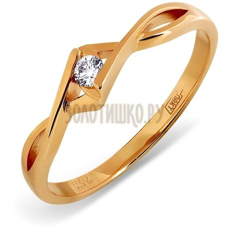 Кольцо с бриллиантом Т101011603