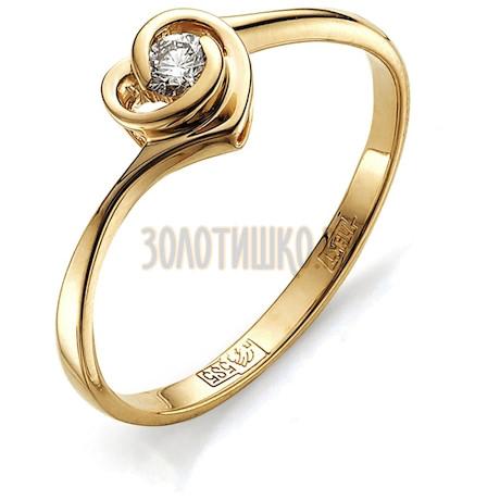 Кольцо с бриллиантом Т101011604