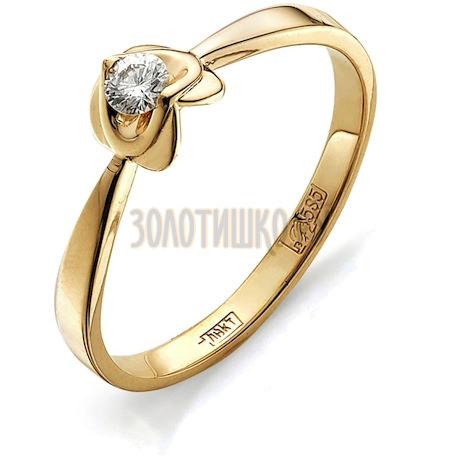 Кольцо с бриллиантом Т101011629