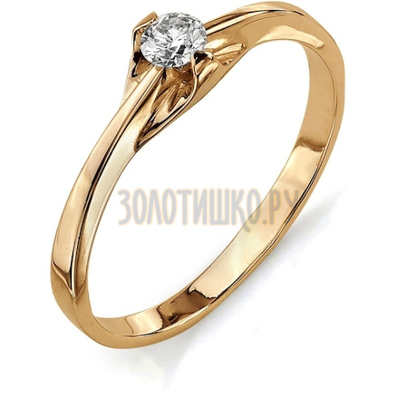 Кольцо с бриллиантом Т101011636