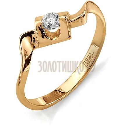 Кольцо с бриллиантом Т101011670