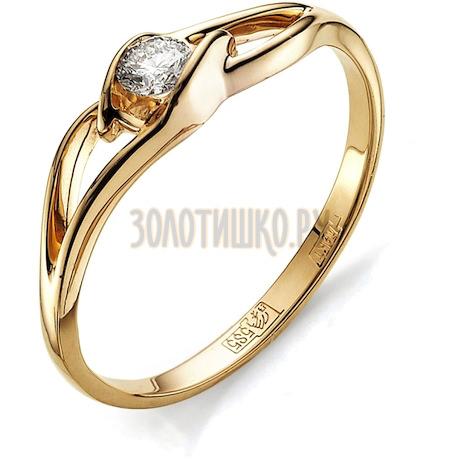 Кольцо с бриллиантом Т101011676