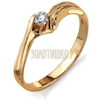 Кольцо с бриллиантом Т101011699
