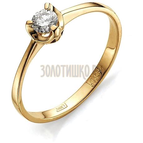 Кольцо с бриллиантом Т101011707