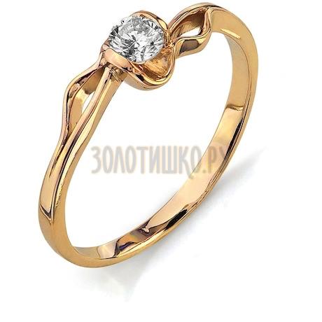 Кольцо с бриллиантом Т101011709
