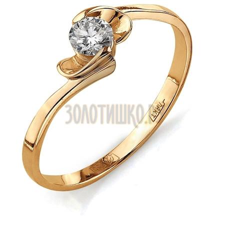 Кольцо с бриллиантом Т101011718