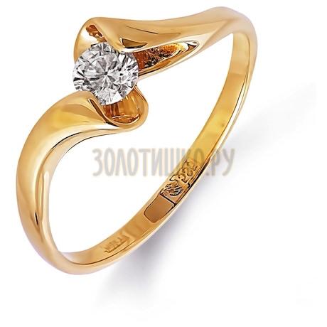 Кольцо с бриллиантом Т101011719