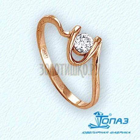 Кольцо с бриллиантом Т101011726