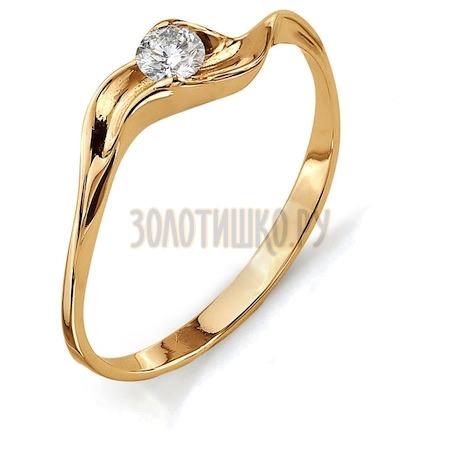 Кольцо с бриллиантом Т101011811
