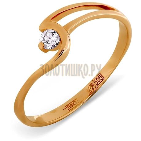 Кольцо с бриллиантом Т101011812