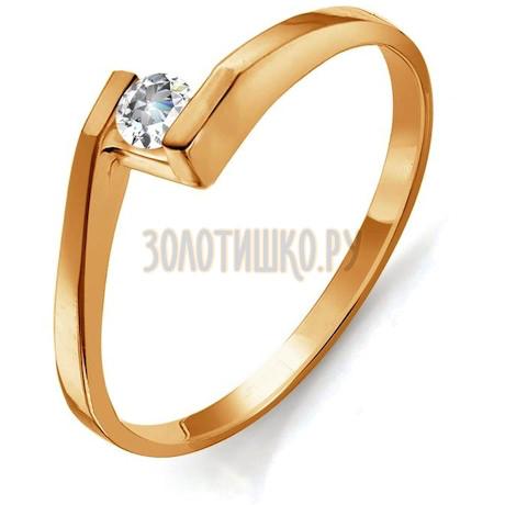 Кольцо с бриллиантом Т101011813