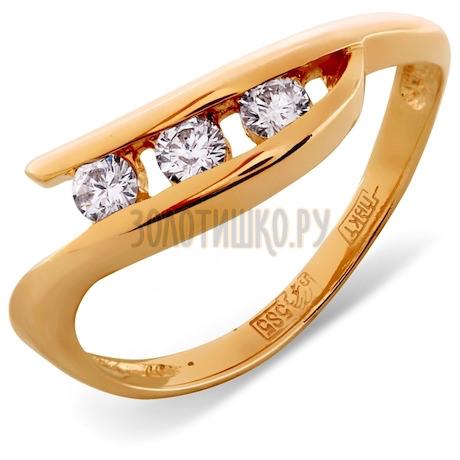 Кольцо с бриллиантами Т101011879