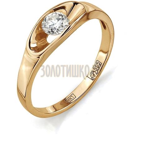 Кольцо с бриллиантом Т101011883