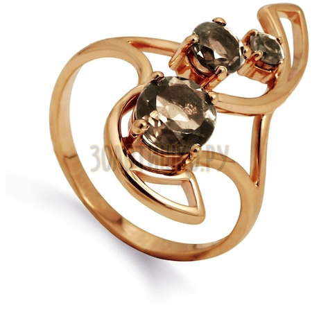 Кольцо с раухтопазами Т101012109_5