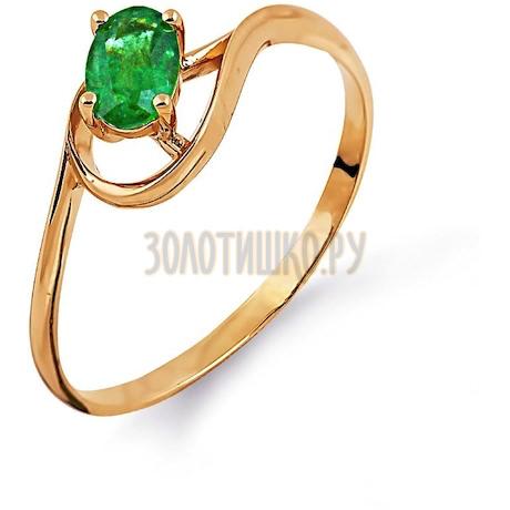 Кольцо с изумрудом Т101014106