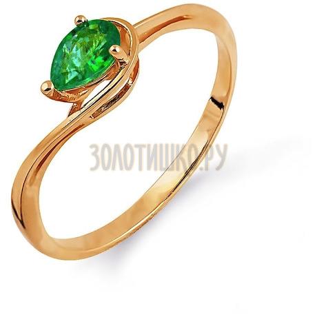 Кольцо с изумрудом Т101014109