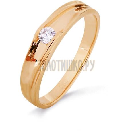 Кольцо с бриллиантом Т101016335
