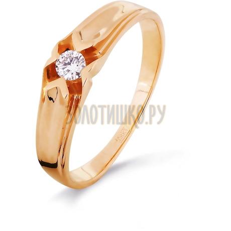 Кольцо с бриллиантом Т101016337