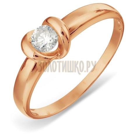 Кольцо с бриллиантом Т101017824