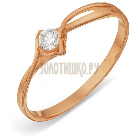 Кольцо с бриллиантом Т101017833